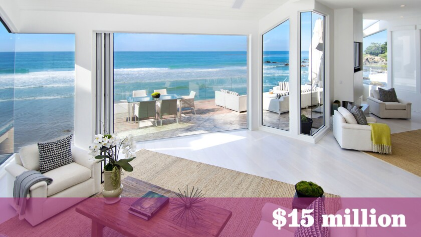 Former Rob Report chief executive and current vice chairman Bill Curtis is asking $15 million for his oceanfront home in Malibu's Broad Beach area.