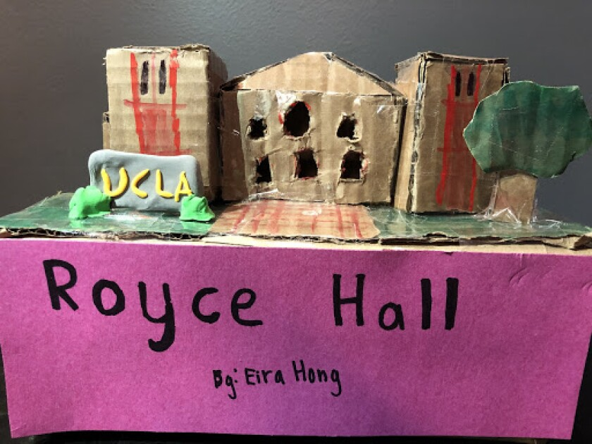 Royce Hall, by Eira Hong