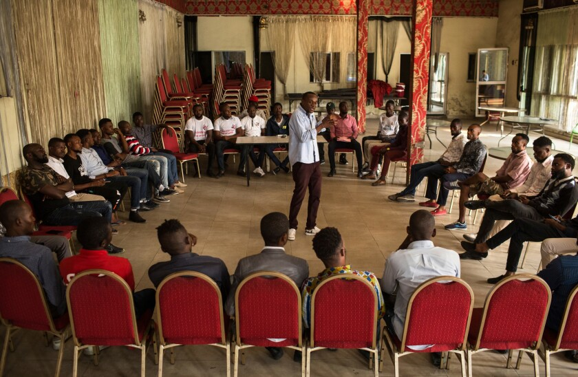 Filimbi pro-democracy youth movement in DRC