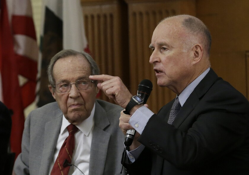 Jerry Brown, William Perry