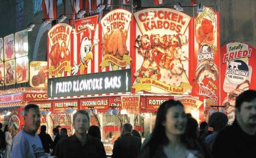 The fried-food craze is even crazier at this year's San Diego County Fair.