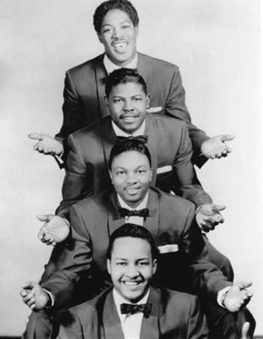 The Penguins were, top to bottom, Bruce Tate, Dexter Tisby, Cleve Duncan and Curtis Williams.
