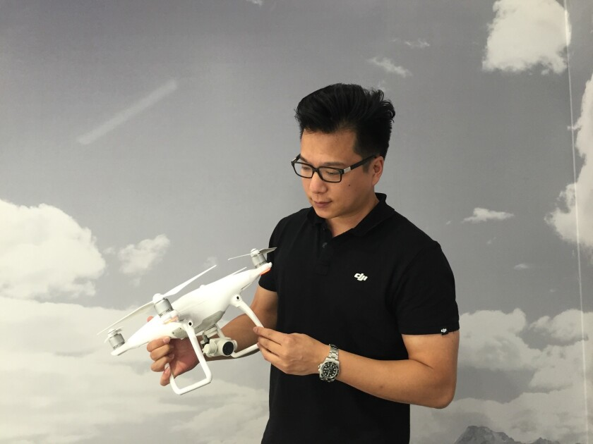 In China, the 'Apple of drones' is flying away with success