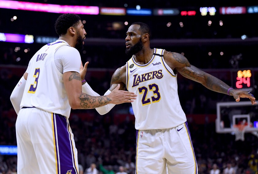 Lakers All-Stars Anthony Davis and LeBron James might get to continue their pursuit for an NBA title starting July 31.