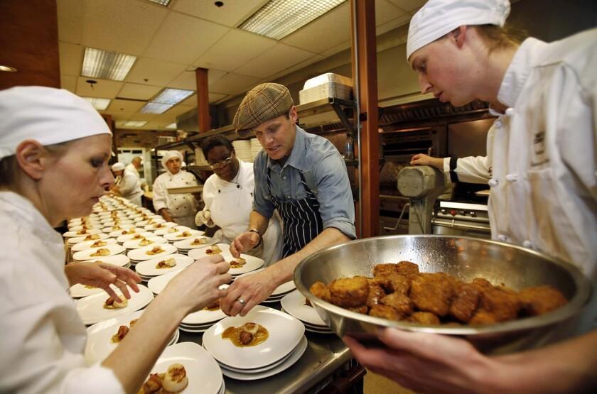 """Former """"Top Chef"""" contestant Brian Malarkey"""