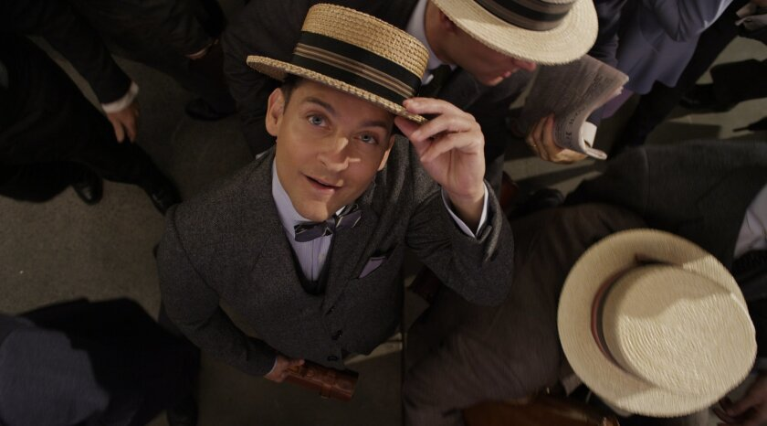 """Tobey Maguire as Nick Carraway in """"The Great Gatsby."""""""