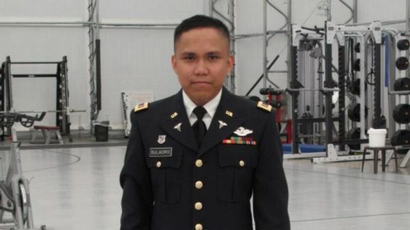 Alvin Bulaoro, who served in the Army Reserve, was found dead on Jan. 3. family photo