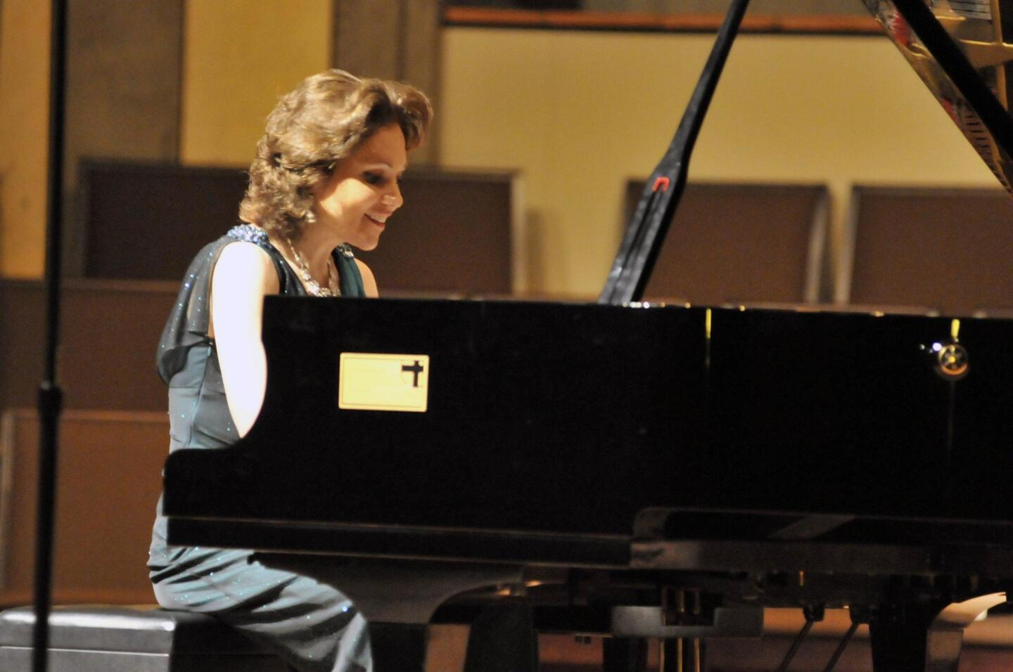 Pianist Alina Kiryayeva