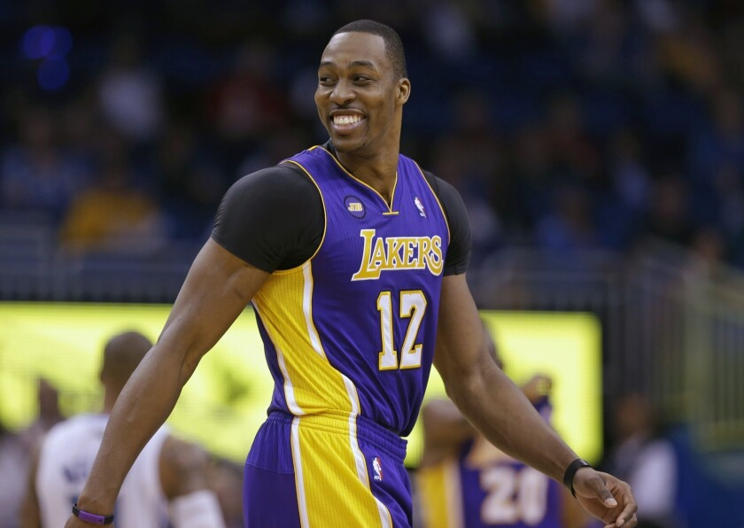 Dwight Howard is coming back to the Los Angeles Lakers.