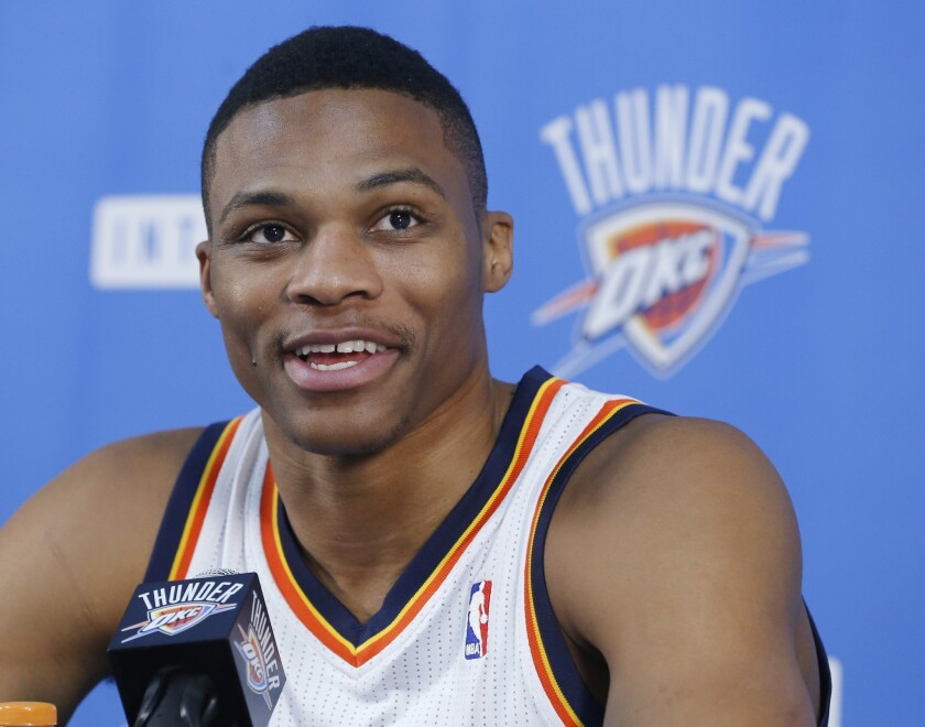 Nine-time All-Star Russell Westbrook now plays for the Houston Rockets.