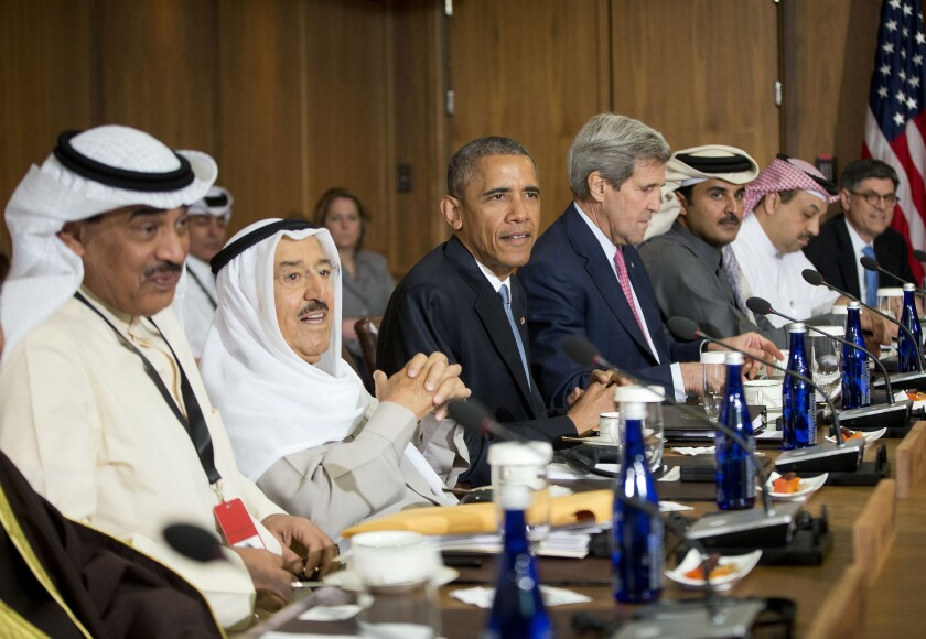 President Obama meets with Persian Gulf leaders