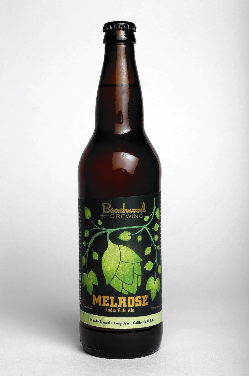 Melrose India Pale Ale from Beachwood Brewing.