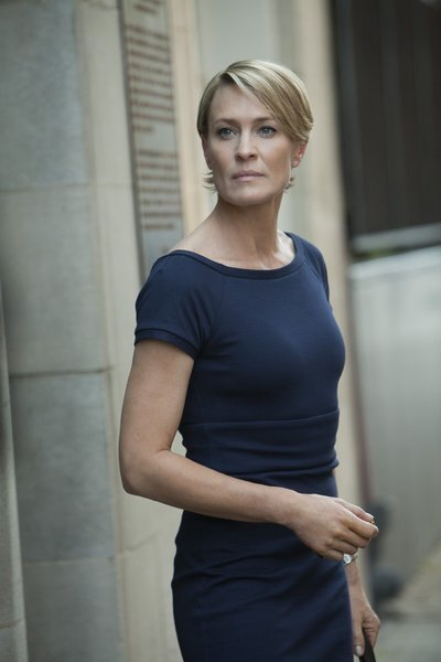 """Robin Wright as Claire Underwood in """"House of Cards."""""""