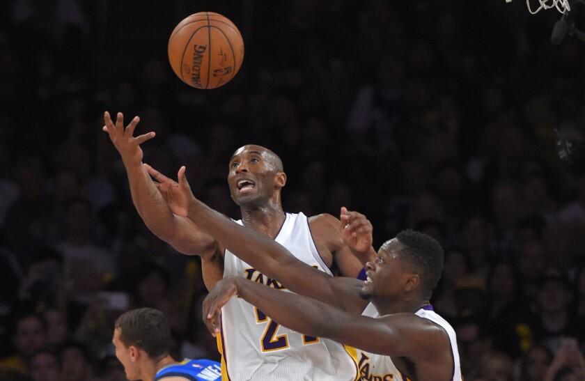 Kobe Bryant, Julius Randle