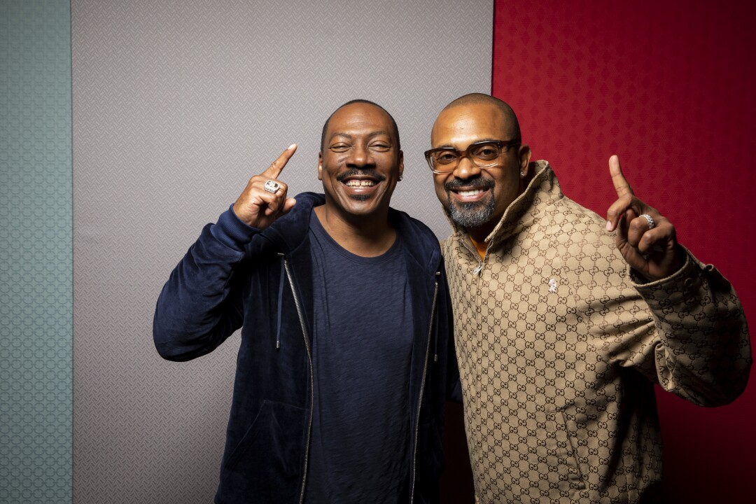 Eddie Murphy and Mike Epps