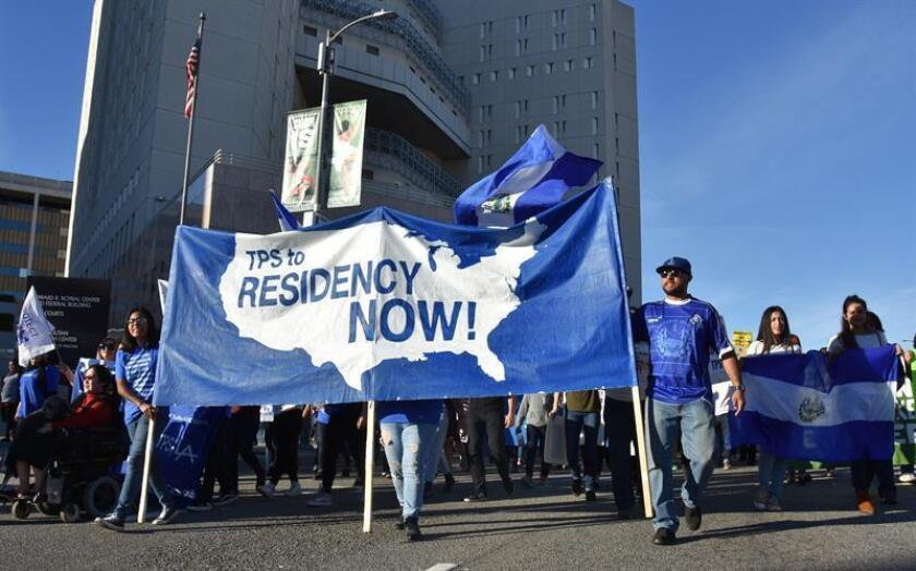 Hondureños se movilizarán en abril en Washington para pedir renovación de TPS
