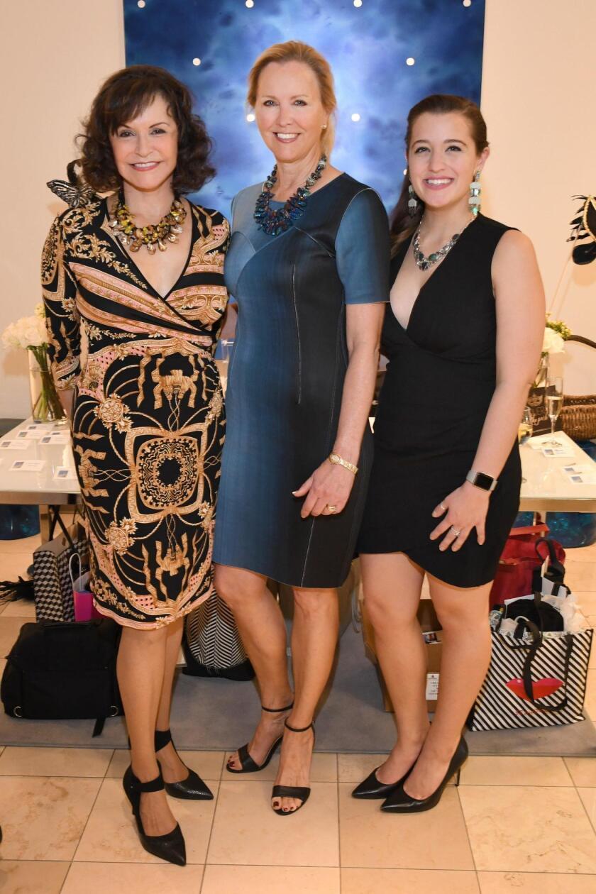 Special Event Chairs Arlene Esgate, Micki Olin, Michaela Lynott
