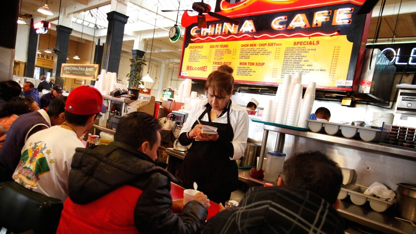 China Cafe in Grand Central Market is closing for remodels and will reopen early next year.