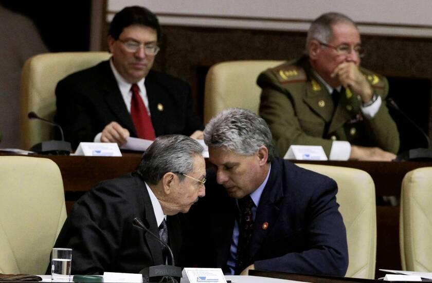 Cuba's apparent successor to Castro was carefully groomed