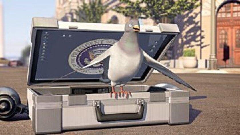 A scene from 'Pigeon: Impossible' by Lucas Martewll. Winner of Best Animated Short — FICCIBAF. Image: Courtesy