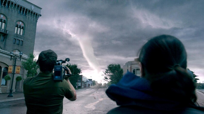 """The tornadoes are the stars of the special-effects-heavy """"Into the Storm."""""""