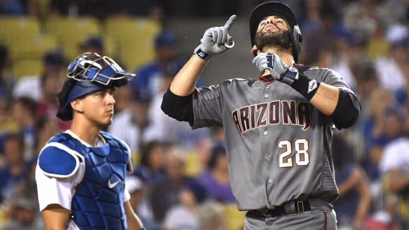 new concept c5f08 59d69 J.D. Martinez hits four homers as the Diamondbacks rout the ...