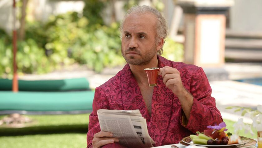"This image released by FX shows Edgar Ramirez as Gianni Versace in a scene from ""The Assassination o"