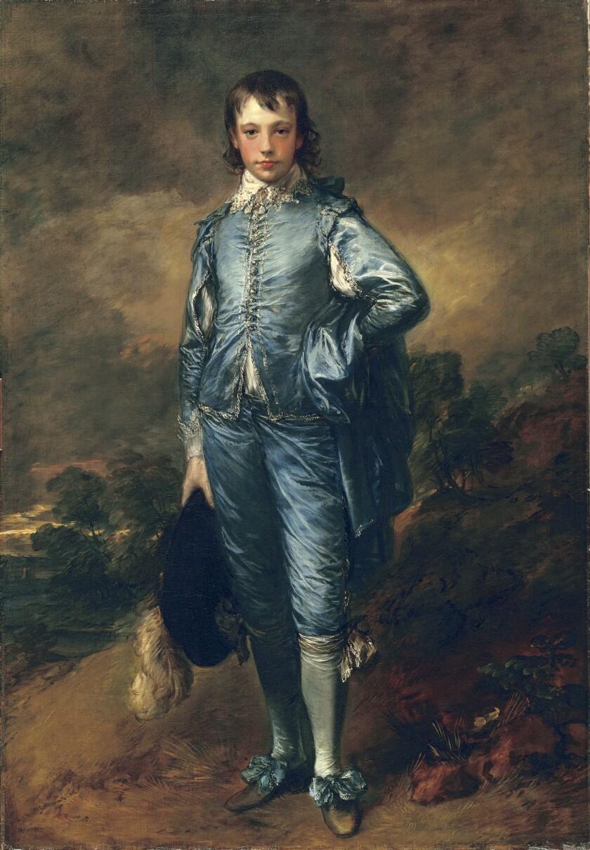 "Thomas Gainsborough's ""The Blue Boy"" (circa 1770), oil on canvas"
