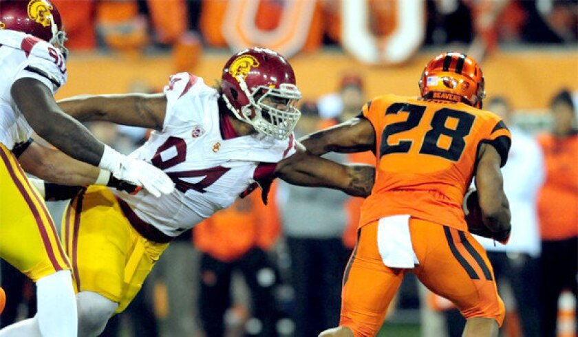 USC Trojans' secondary steps up against Oregon State