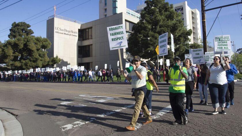UC bracing for Day 2 of strike when nurses, tech workers are