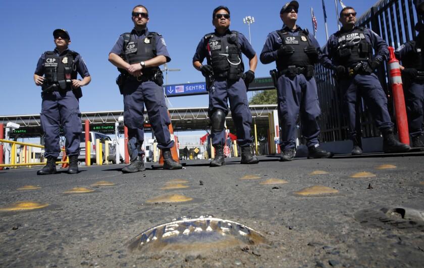 Border officers