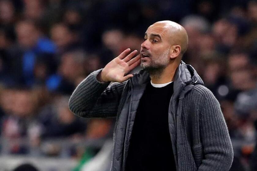 El técnico del Manchester City, Josep Guardiola. EFE/Archivo