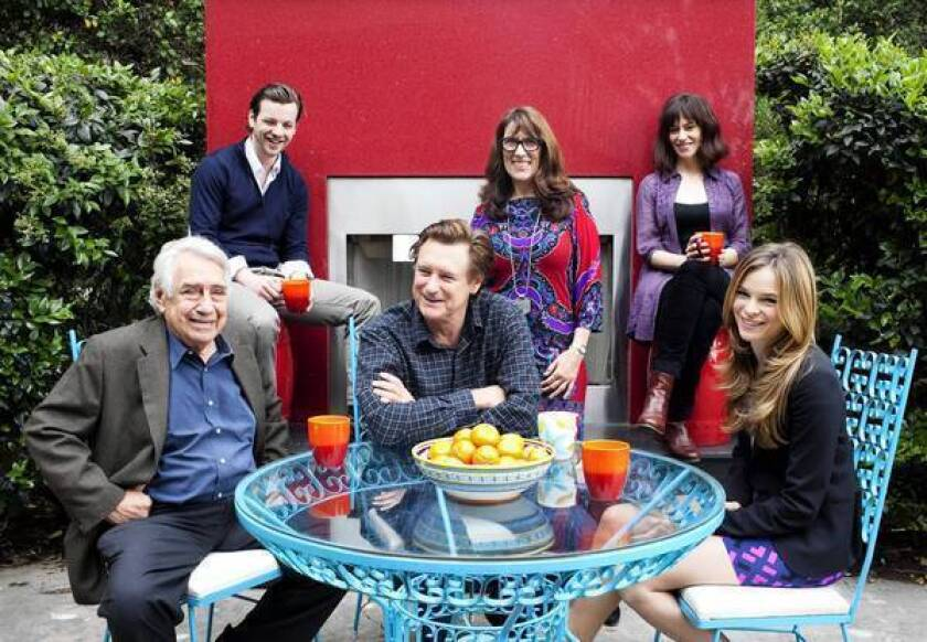 Philip Baker Hall, left, Gethin Anthony, Bill Pullman, Cedering Fox, Maggie Siff and Danielle Panabaker will be part of the WordTheatre performance.