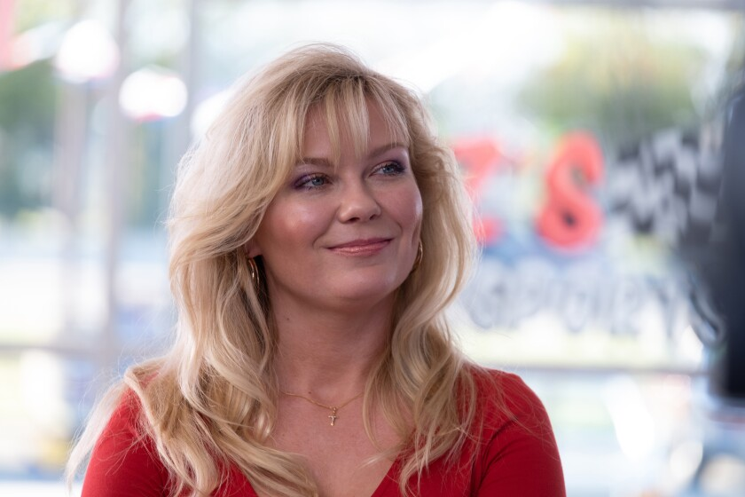 "Kirsten Dunst in ""On Becoming a God in Central Florida"""