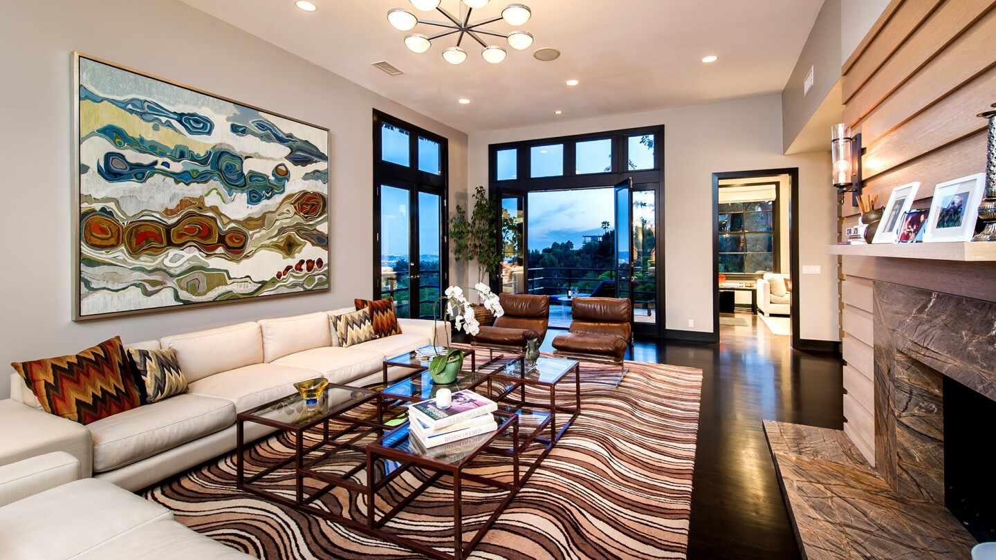 Photos Hot Property Former Bob Mackie Owned Home Los Angeles Times