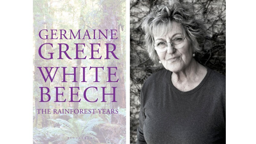 "Author Germaine Greer and her new book, ""White Beech."""