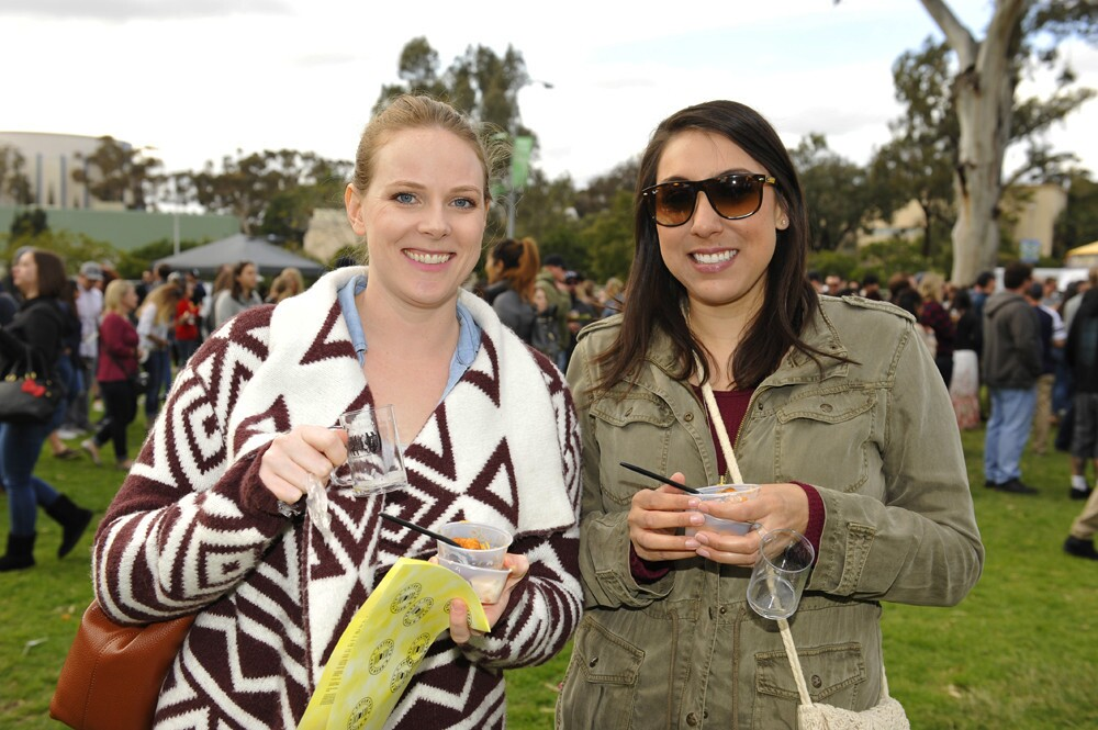 Those in attendance for the Tater Tors and Beer Festival at Balboa Park got to sample dozens of craft beers along with unique tater tot creations on Saturday, Feb. 25, 2017. (Jared Gase)