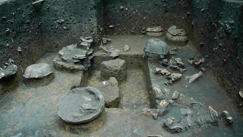 The Hatahara site with Manacapuru phase urns and anthropogenic dark soils, circa 600 AD.