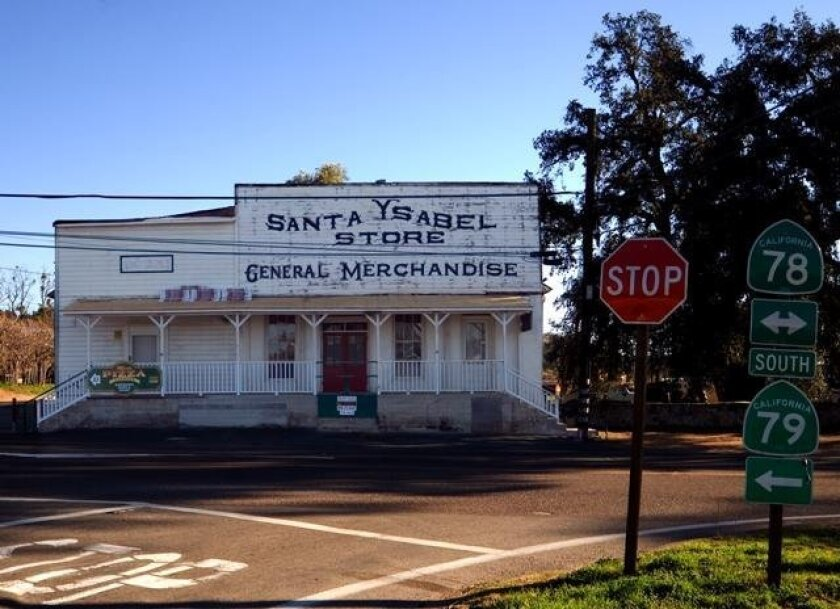 Santa Ysabel general store building in its current appearance.