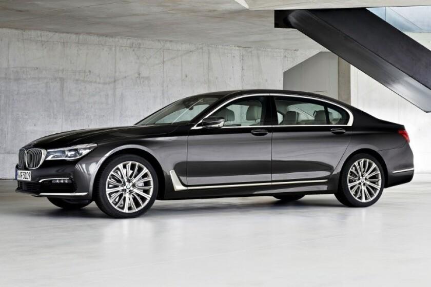 BMW Serie 7.