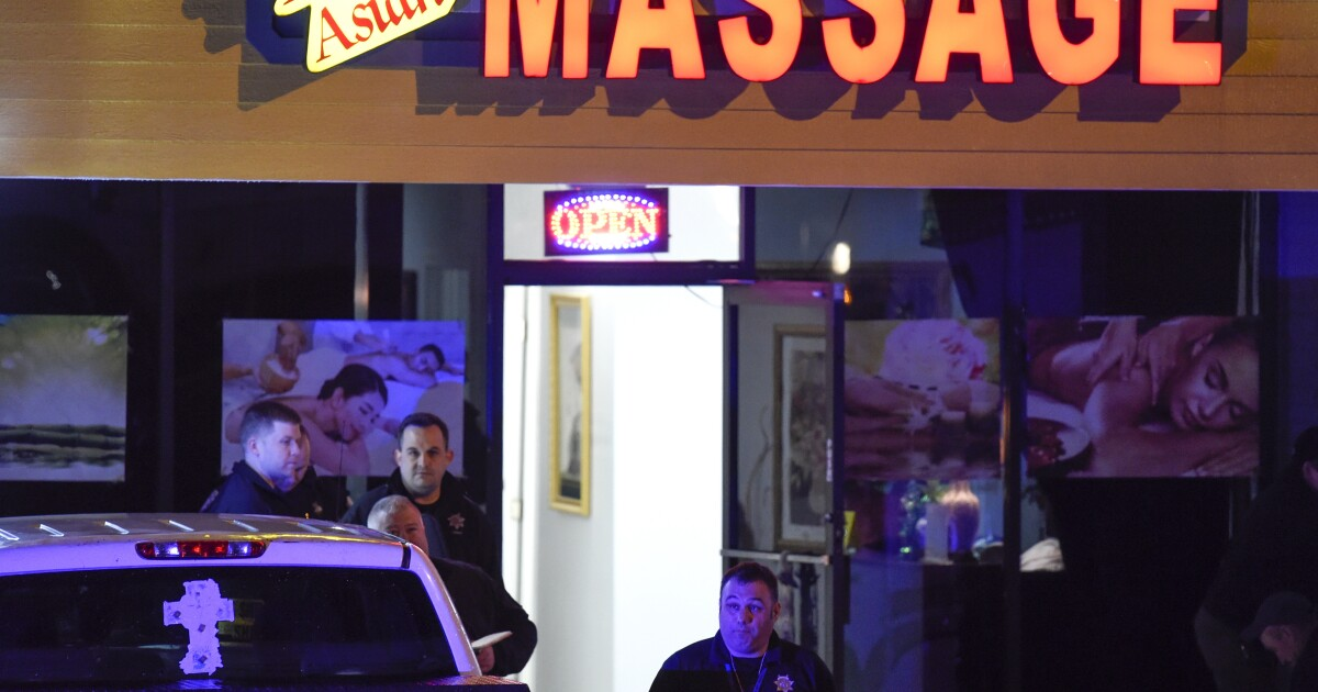 www.latimes.com: Police say man charged with killing Asian women and others at spas had 'sexual addiction'