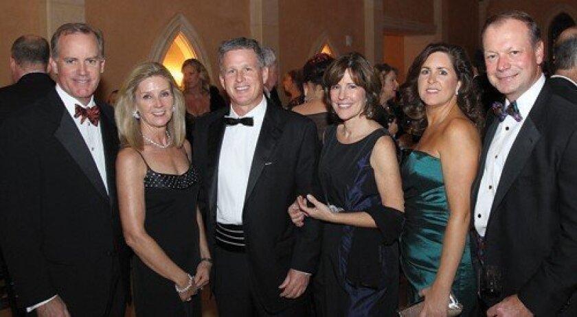 David and Marty Pendarvis, Paul and Elizabeth Moyer, Julie and Bruce Breslau (Photo: Jon Clark)