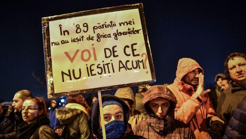 ROMANIA-JUSTICE-PROTEST