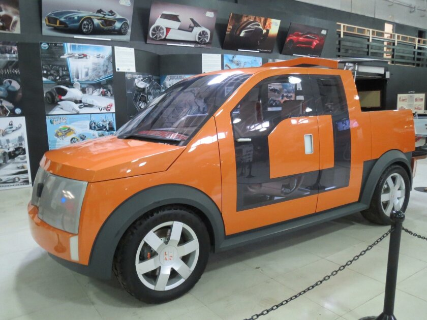 Ford's 24/7 concept electric utility pickup.