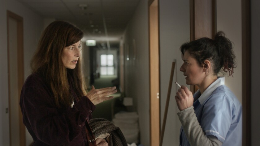 Catherine Keener provides unsettling portrait of trauma in 'War Story'