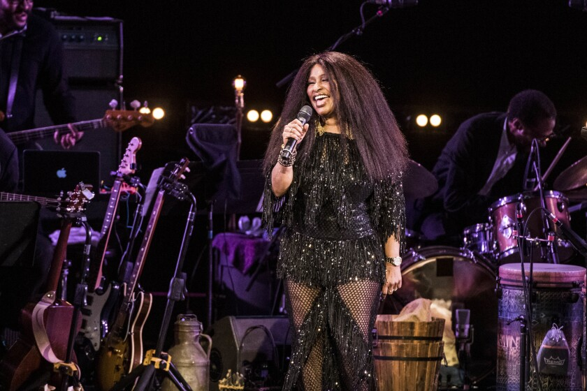 Chaka Khan performs during Joni 75 at The Dorothy Chandler Pavilion on November 6, 2018 in Los Angel