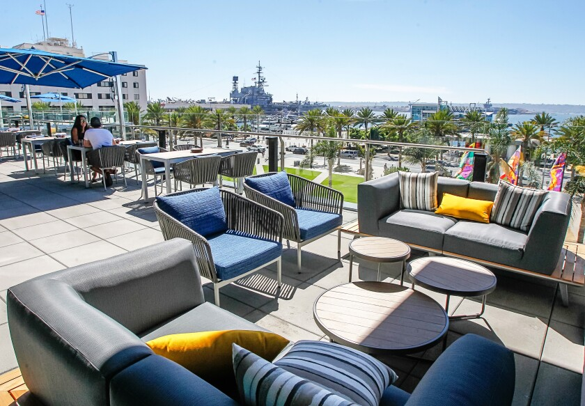 Cin cin! Vistal, at the InterContinental hotel along the San Diego bayfront, will host an Italian-inspired happy hour.