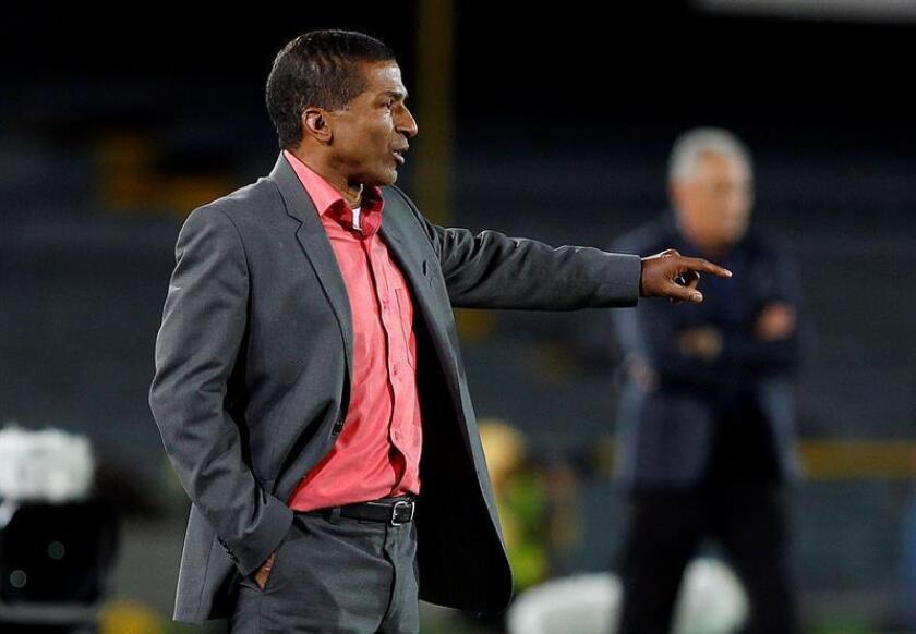 Alexis García, entrenador del Deportivo Pasto. EFE/Archivo