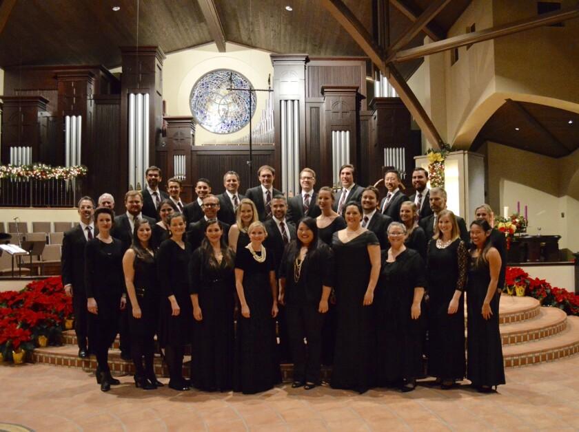 San Diego Pro Arte Voices choral ensemble.