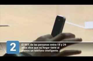 5 datos sobre los teléfonos inteligentes
